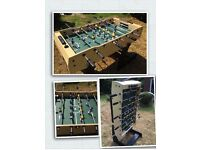 Football (Foosball) Table Great condition hardly used