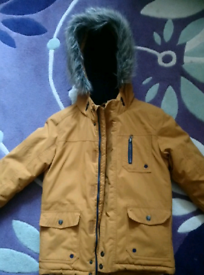 Boys Parker style jacket from M&S Age 9-10- excellent condition