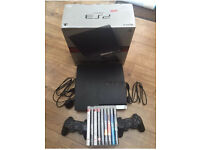 PS3 CONSOLE 250GB CHARCOAL BLACK + 9 TOP GAMES