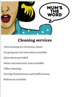 Holiday cleaning!