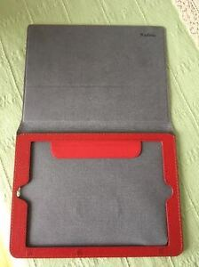 IPAD / TABLET COVER / CASE red color