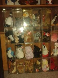 BEANIE BABIES ALL in soft cases with tag protectors. Kitchener / Waterloo Kitchener Area image 2