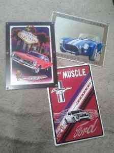 Collectible Metal Signs