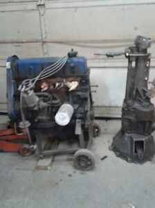 2.3 Pinto Motor and Transmission 750.00 OBO Windsor Region Ontario image 1