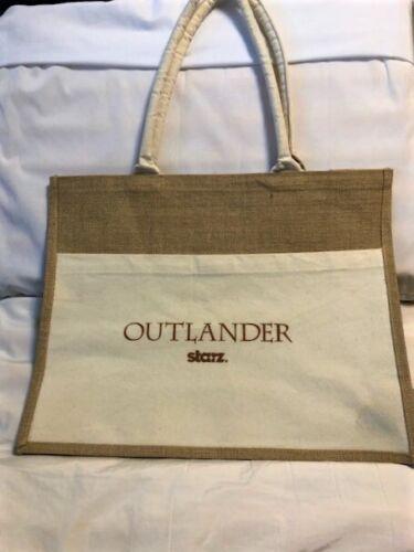 Starz Outlander Promotional Burlap Tote