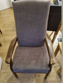 Gorgeous Parker Knoll Mid Century Armchair(