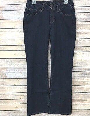 Jag Jeans Womens Boot Cut Leg Dark Wash Size 8 Low Rise Stretch Denim 34