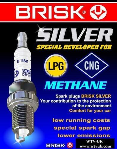 6x Lexus GS450h 3.5i y2006-2011 Brisk YS Lpg,Autogas,Gasoline,Petrol Spark Plugs