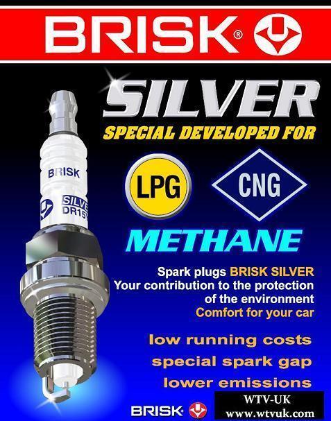 12x Bmw 750 5.4i E38 y1994-2001 = Brisk YS Lpg,Autogas,Gpl,Petrol Spark Plugs
