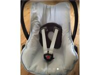 Universal Blue Check Car seat Cover
