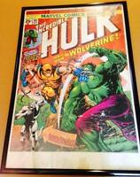 Marvel Classic Comic Book Cover Framed Posters