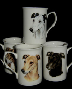 BN-Greyhound-Bone-China-Mug-Four-Greyhounds-Available-Greyhound-Gift-Dog-Mug