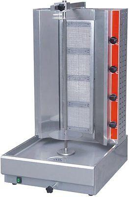 New Vertical Gyro Broiler Gyros Trompo Shawarma Natural Gas