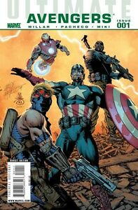ULTIMATE AVENGERS Collection in NM