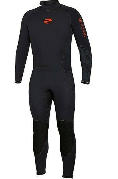 Bare 3mm Men/'s Elastek Full Stretch Scuba Diving Wetsuit CLOSEOUT Size LARGE