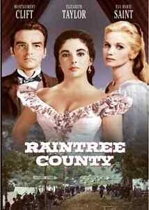 Raintree County DVD ( MONTGOMERY CLIFT - ELIZABETH TAYLOR )