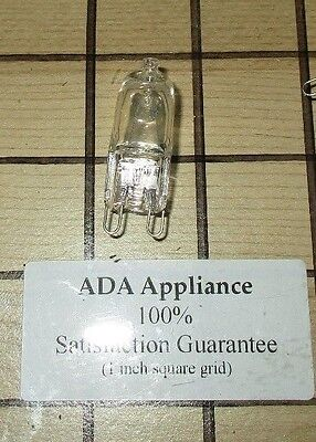 NEW Kitchen Aid Oven Halogen Lamp WPW10472384,  W10472384  SATISF GUAR