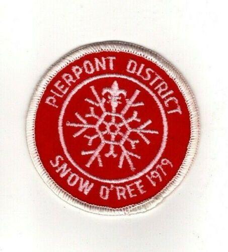 BSA Mountaineer Area CouncilWest Virginia, Pierpont 1979 Snow O