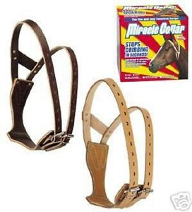 Weaver Leather Miracle cribbing collar horse SMALL tack