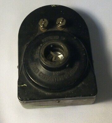 Antique Speaker Supplied to Victor Talking  Machine Co. By Radio Corp Of America Victor Talking Machine Company