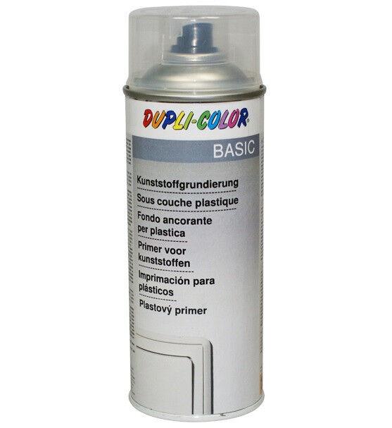 4x Dupli-Color Kunststoffgrundierung Spraydose farblos 400 ml