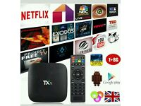 TX1 ANDROID TV BOX. HD LATEST UPDATE.