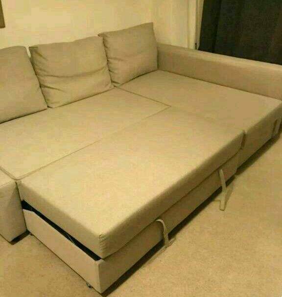Corner Sofa bed. Like New condition. Only300Free Delivery and Free Assemblyin Barking, LondonGumtree - Corner Sofa Bed Comes from smoke and pet free home. Nice and clean..Size of L shape 240cm by 140cm Size of bed 200cm by 130cmCan be changed to left or right corners sofa bed easilyComes in 6 pieces. I can assemble it for freeFree delivery within 10...