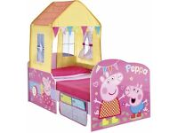 Peppa Pig Toddler Bed - MINUS THE TENT