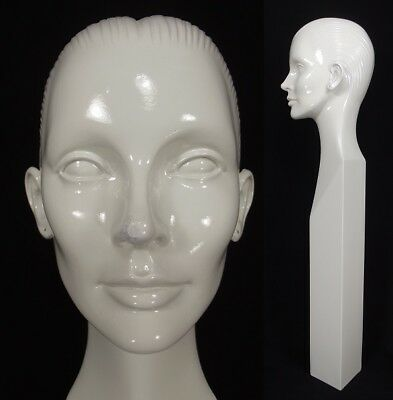 Rare Vintage Mannequin Head Woman Abstract 1960s Store Window Display 33 Tall