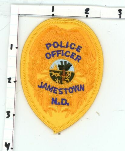 JAMESTOWN POLICE NORTH DAKOTA ND NICE NEW COLORFUL PATCH SHERIFF