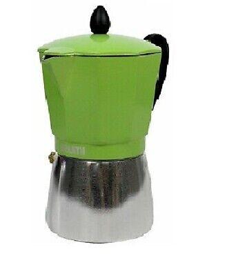 3 Cups Imusa stove top Aluminium Espresso Coffee Maker cafetera cappuccino cuban