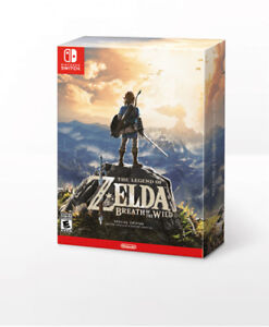 Zelda Breath of Wild LIMITED EDITION NEUF Scellé Nintendo Switch