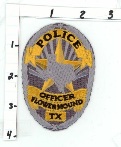 TEXAS TX FLOWER MOUND POLICE NEW PATCH SHERIFF