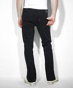levis mens 511 skinny fit jeans black stretch 4406. Black Bedroom Furniture Sets. Home Design Ideas