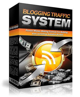 eBook-PDF Master Resell Rights Blogging Traffic System
