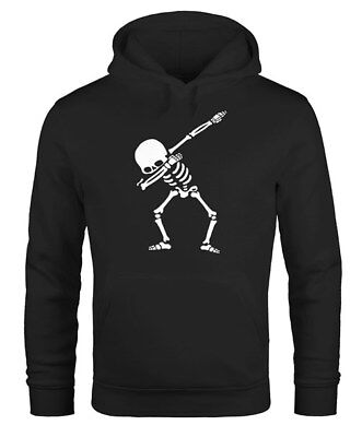 eletton Hip Hop Dance Tanz Skelett Dabbing Kapuzen-Pullover (Skelett Pullover)