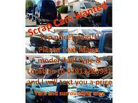 Scrap cars wanted - York