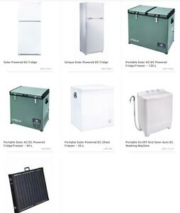 DC Solar Fridges and Freezer
