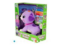 Brand new boxed Leapfrog Violet Read with Me Age 2-5 years (Duplicate Present)