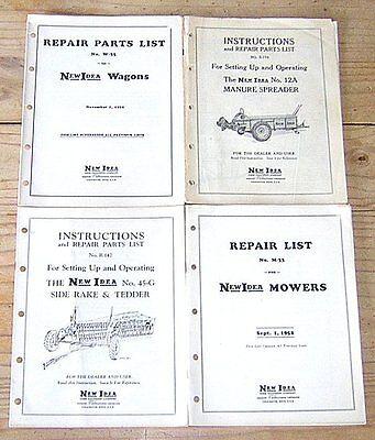 new idea manure spreader parts manual