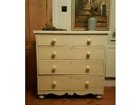 Antique chest of drawers ( free local delivery)