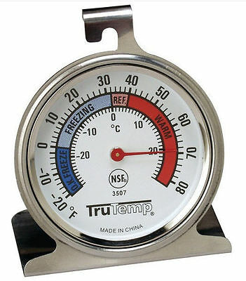 Taylor Stainless Stiletto Refrigerator Freezer Thermometer for Kitchen C and F