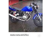 Moto Roma 125cc