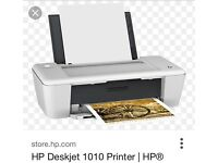 Printer HP Deskjet 1010 plus black and colour ink plus paper