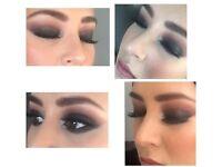Dipali hair & makeup artist. Birmingham based