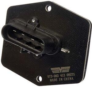 Chevy gmc c1500 heater blower motor resistor dorman 973 for Suburban furnace blower motor replacement
