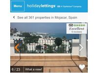 SPAIN APARTMENT SWAP FOR HOUSE AROUND NORTHWICH, CHESHIRE