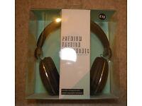 Primark premium fashion headphones new bnwt includes microphone COMFORTABLE