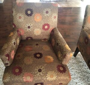 2 Pier One Accent Chairs