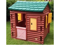 Little Tikes/Tykes Log Cabin Playhouse,Can Deliver 50Miles for Fee,Roundhay